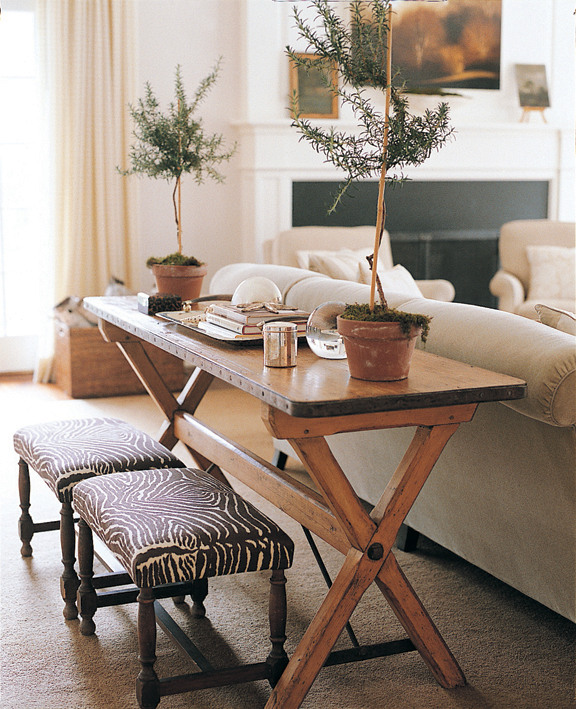 Decorating A Sofa Table Behind A Couch: Orrick & Company